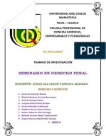 TRABAJO DE INVESTIGACIÓN - DELITO DE PECULADO (1)