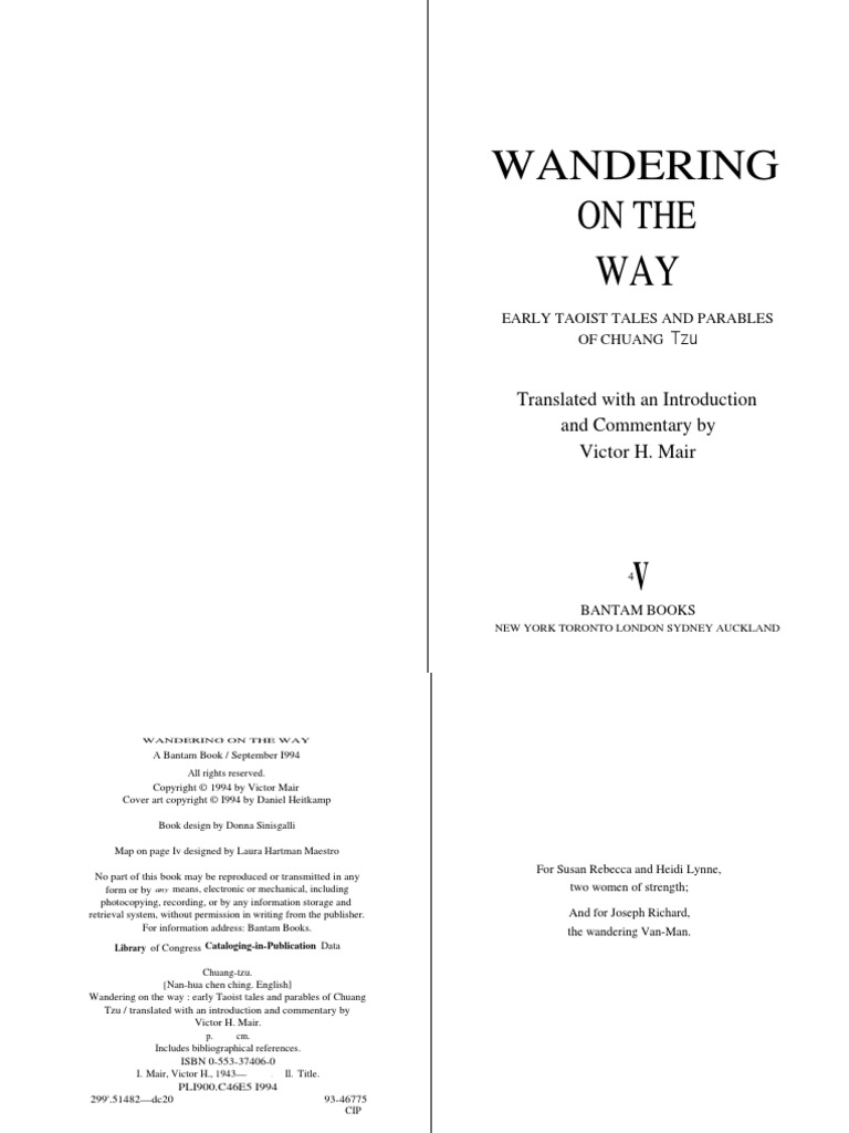 Chuang tzu wandering on the way confucianism tao fandeluxe Image collections