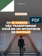 E-book - 10 passos para ser um investidor de sucesso
