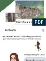ppt LOS ADVERBIOS - CLASIFICACIÓN UNO