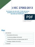 Presentation ISO 27002