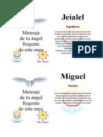 mensaje angelical 3