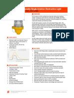 OL32S LED Low Intensity Single Obstruction Light_datasheet_v202008
