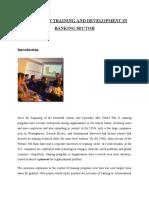 Nature of Training and Development rakhi