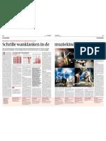 Volkskrant 16-2 - Schrille wanklanken