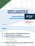 2. Intalaciones y validacion agua