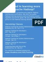 Dzone Apache Hadoop Deployment