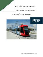 Metro ligero Torrejón de Ardoz