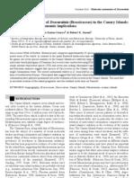 Goodson et al. 2006===biogeographic and taxonomic implications===