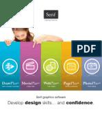 Serif Design Suite brochure 2010