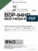 Pioneer bdp94hd
