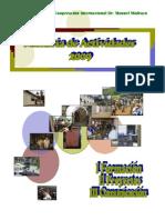Memoria Actividades FMM 2009