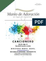 01 Cancionero Manto de Adoración 2018 Rev.11