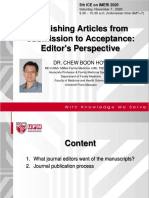 5th ICE on IMERI-Publishing from editor's perspectives