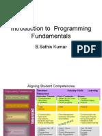 Why We Study Programming Fundamandals