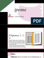 Filipenses 01 Introducción