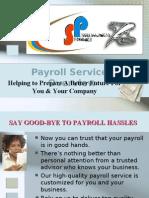 SP PAYROLL   TAX SERVICES  presentation