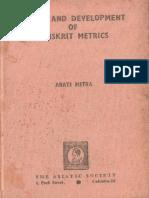 Origin and developement of Sanskrit Metrics.pdf