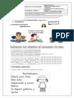 Guía de castellano 14 Octubre 2020