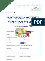 PORTAFOLIO DOCENTE 5to