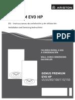 Manual Genus Premium HP EVO - Instalación individual 45 65 85 100 115 150 (2) (1).pdf