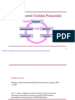 Managementul ciclului de proiect