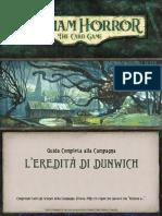 Guida alla Campagna L'Eredità di Dunwich