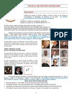 VIGILIA DE PENTECOSTES 2019 coordinadores
