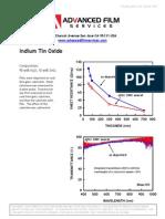 Indium Tin Oxide data sheet rev 0