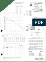Omega Lighting PS8156-8157-8158-8167-8168 TW HID MV & MH Baffle Downlight Spec Sheet 3-83
