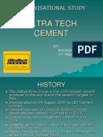 Ultra Tech Cement Ppt