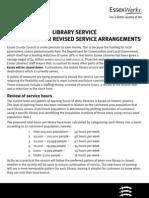 ECC Library Service Proposals 2011-2013
