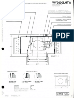Omega Lighting WY3000LHTW INC A-Lamp Wallwash Downlight Spec Sheet 1-86