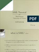 SML tutorial