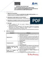 PROCESO CAS N° 292-2019-ANA
