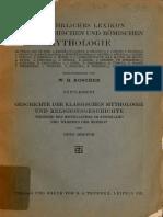 Geschichte der Klassischen mythologie und religionsgeschichte-GRUPPE-1921