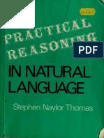 Stephen Naylor Thomas - Practical Reasoning in Natural Language