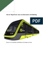 Beeftink 2009 Met de 'RegioTram' naar een duurzamere ontwikkeling