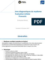 A Perrot - Diagnostic myélome