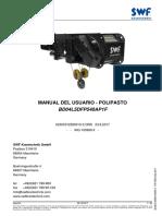 Manual - Polipasto SWF