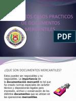 FORMATOS CASOS PRACTICOS DE DOCUMENTOS MERCANTILES grupo 6.pptx
