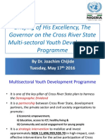 Briefing on the CRS Multi-sectoral Youth Development Programme