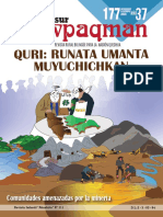 Periódico Conosur Ñawpaqman Nº 177 diciembre 2020