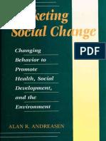 Alan R. Andreasen - Marketing Social Change