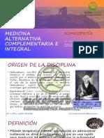 14.1. Clase N° 14 - Medicina Alternativa Complementaria - Homeopatía e Hidroterapia