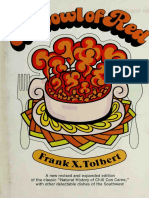 Frank X. Tolbert - A Bowl of Red