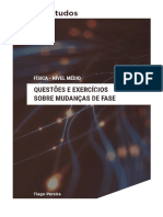 Questões e exercícios sobre mudanças de fase