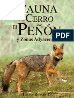 Fauna del Cerro El Peñón y Zonas Adyacentes