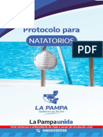 Protocolo Para Natatorios Actualizado Diciembre 2020