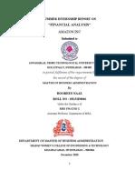 A STUDY ON FINANCIAL ANALYSIS  AMAZON.docx
